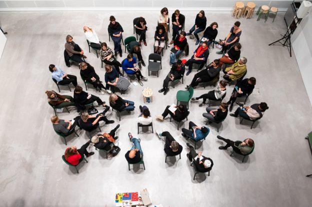 The Art Educator's Talk LIVE in der Berlinischen Galerie. Bild: (c) Harry Schnitger, Berlinische Galerie, 2019